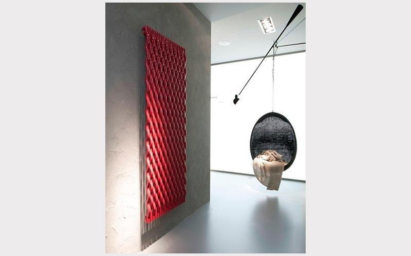 radiatore rosso