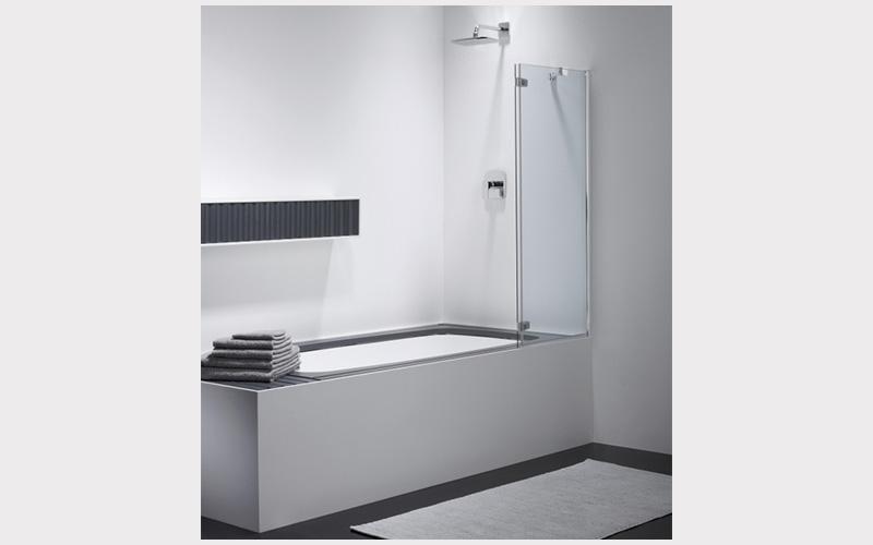 vasca da bagno con box doccia