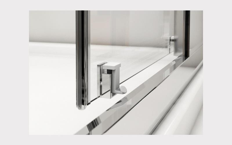 particolare vetro box doccia