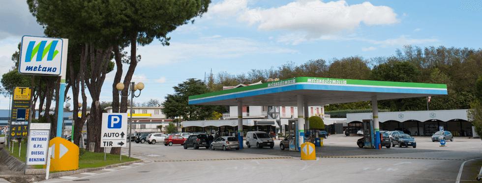 metano distributore Avellino