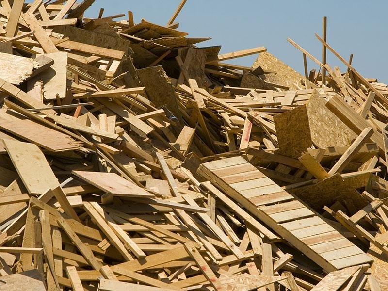 recupero del legno