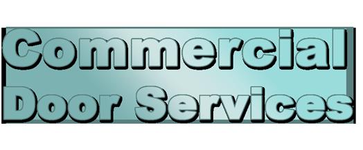 COMMERCIAL DOOR SERVICES LOGO