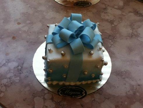 mini torta fiocco
