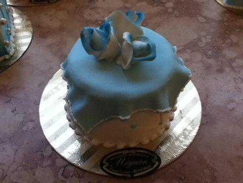 mini torta fiore