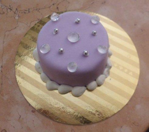 mini torta viola