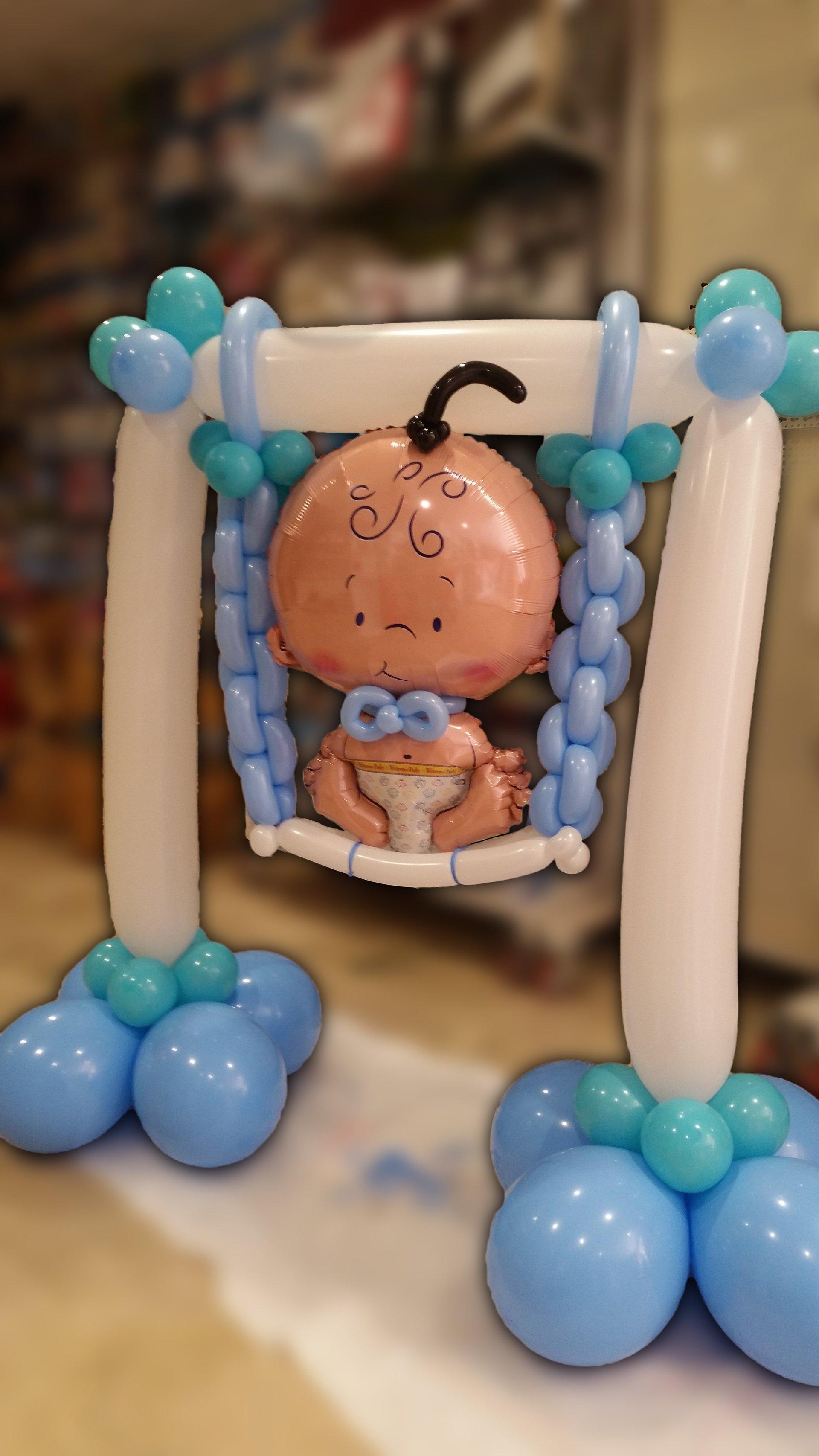 nascita-palloncini-altalena-bimbo-maschietto-azzurro