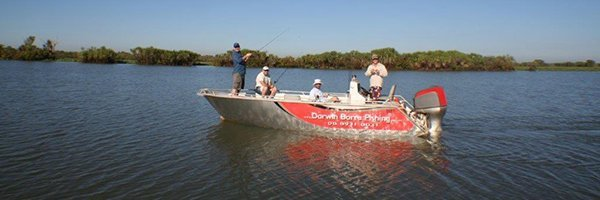 darwin barra fishing tours fishing barradise