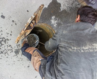 Sewer drain cleaning services by experts from Americraft Plumbing in Hudson, OH