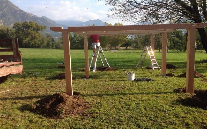 realizzazione strutture legno