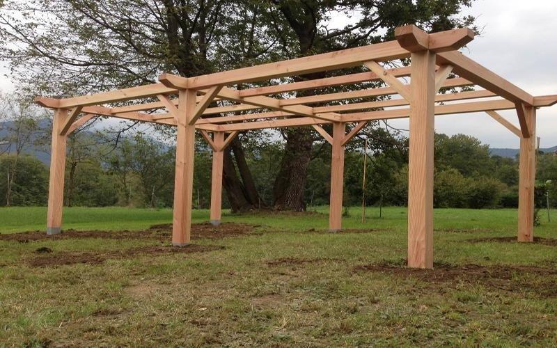 realizzazione pergolati legno