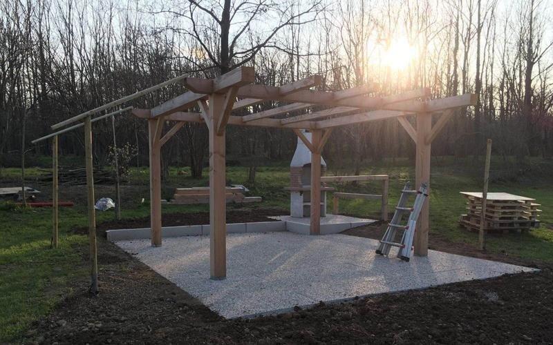 costruzione strutture giardini