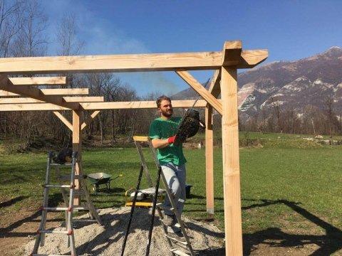 costruzione casette legno