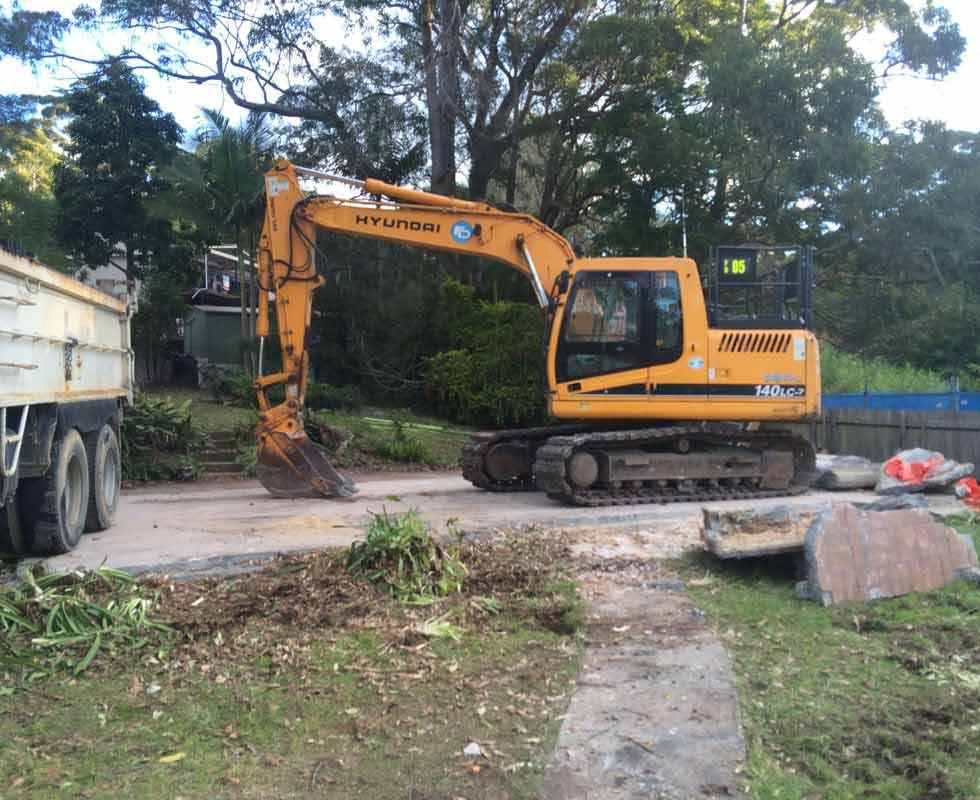 demolition ready to work