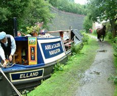 Canal boating services