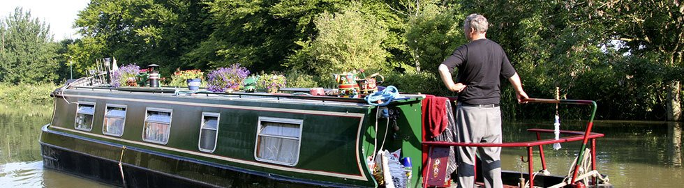 Canal boat services