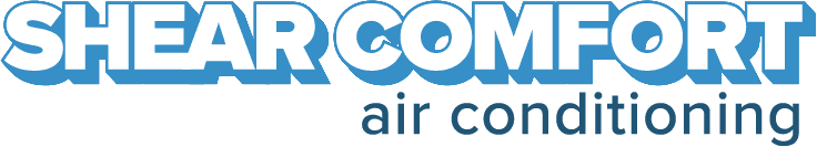 shear comfort air conditioning logo