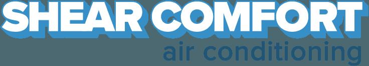 shear comfort air conditioning logo
