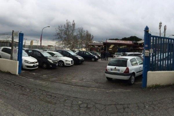 Parcheggio riservato clienti