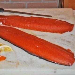 salmone sotto sale