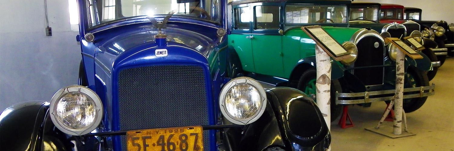 Antique Cars - History Museum - Sussex, NJ