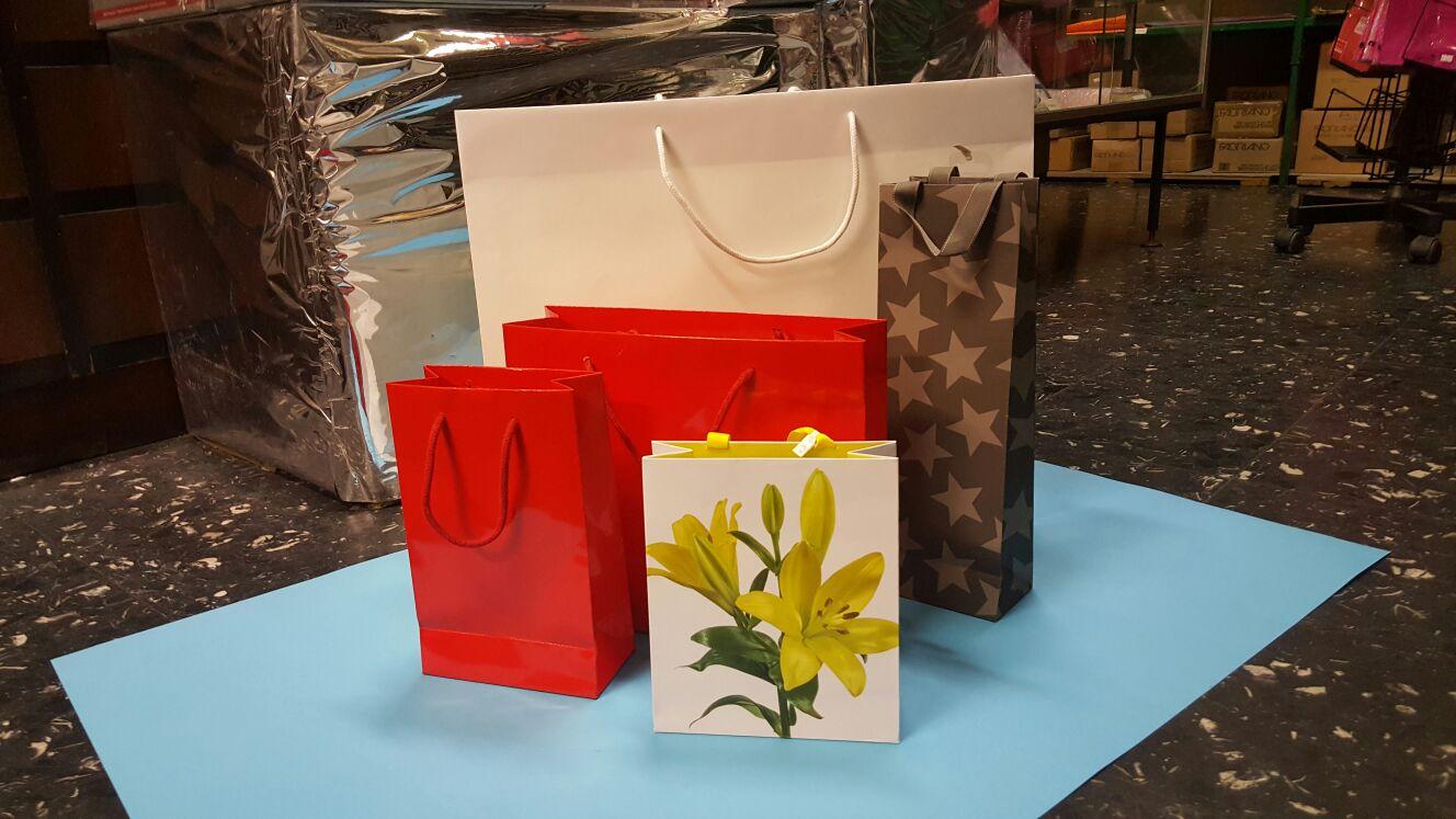 Sacchetti in cartone da regalo eleganti