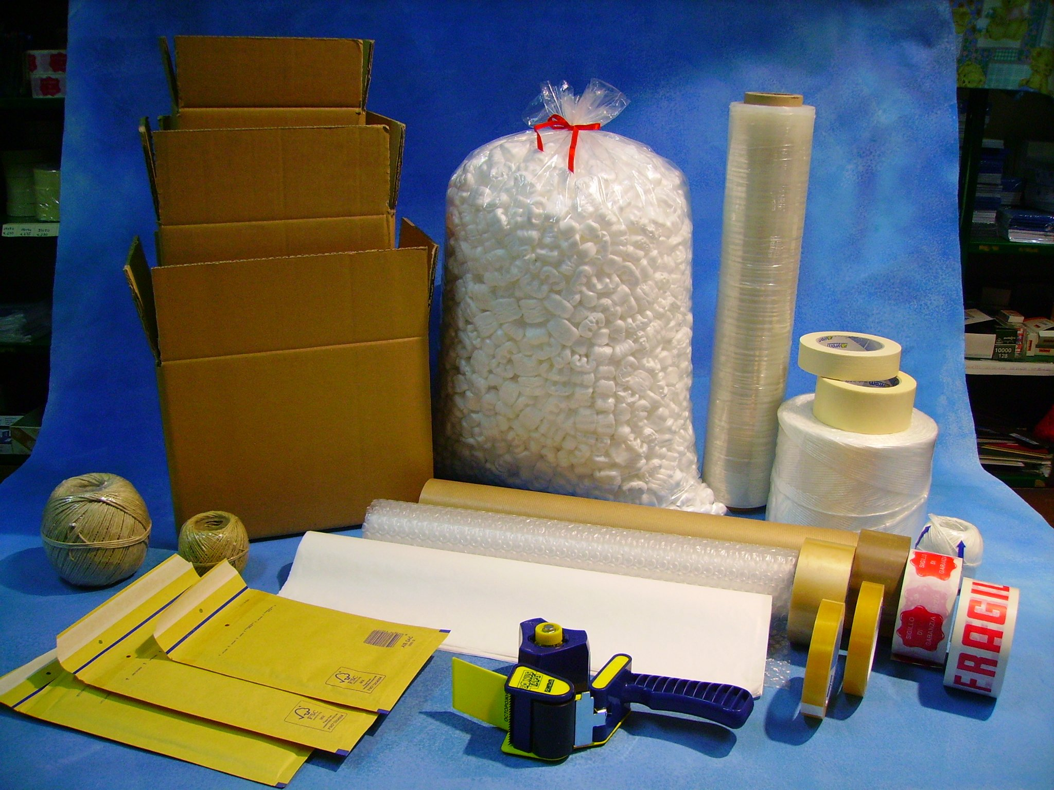Materiali da imballaggi