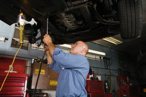 Auto repairs rendered on a vehicle in Chatsworth, GA