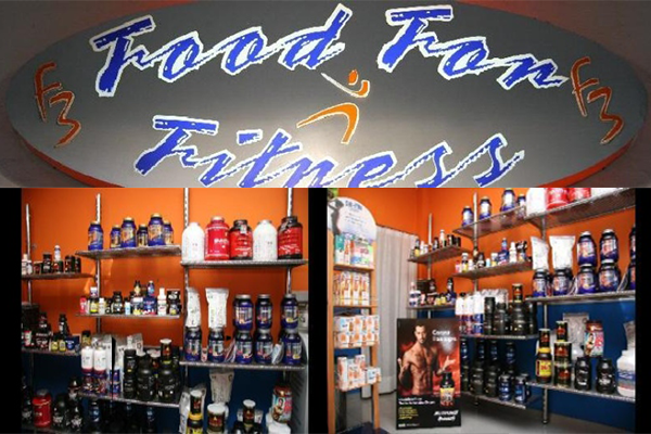 food for fitness vendita integratori Napoli