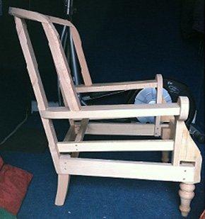 Upholsterer - Sandwich, Kent - Charles Upholstery - Chaise Lounge