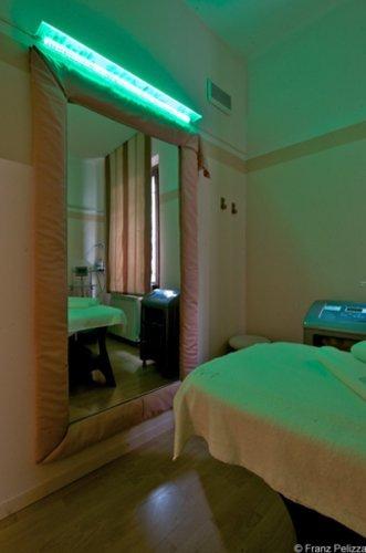 Stanza massaggi e trattamenti