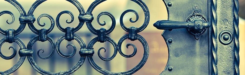 cancelli ferro battuto