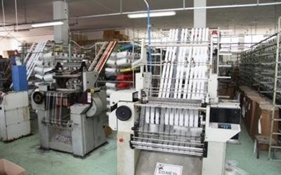 macchina per produzione di nastri Melissano