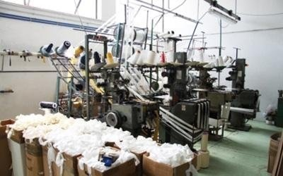 macchinari moderni produzione nastri Melissano