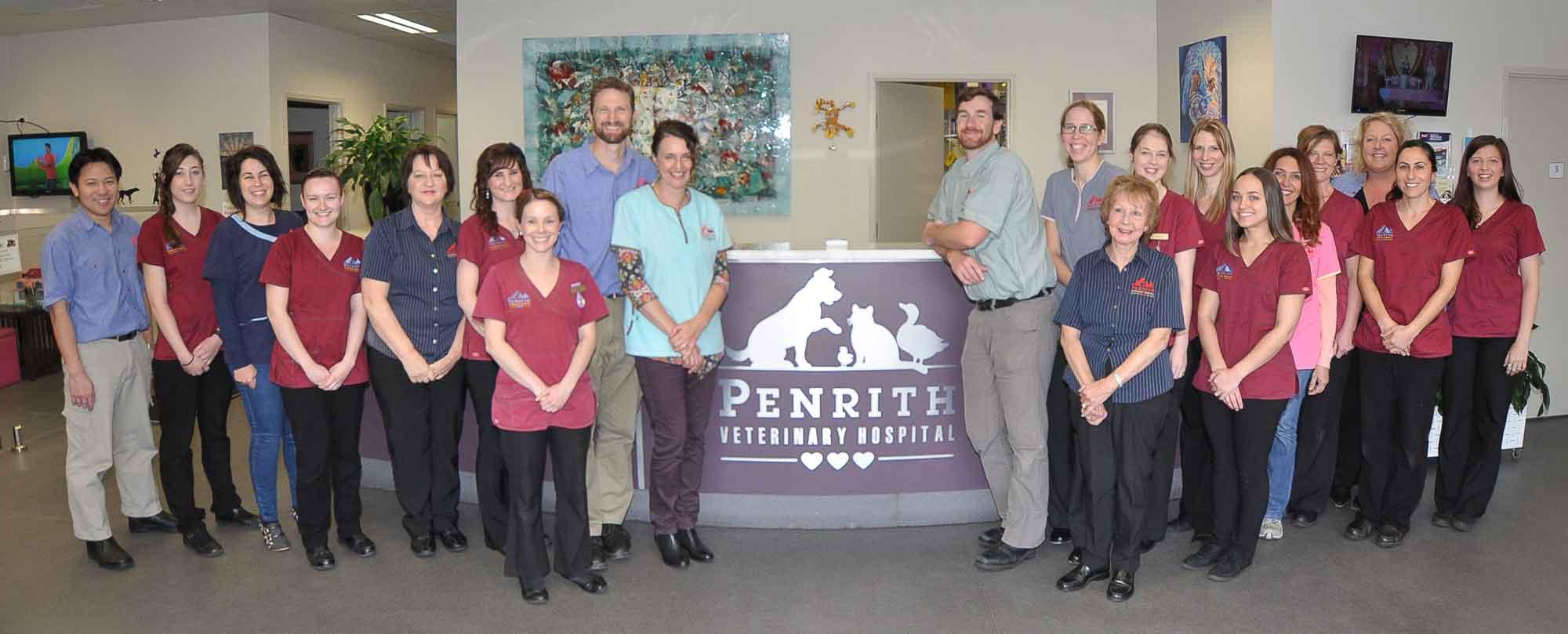 penrith veterinary hospital staff