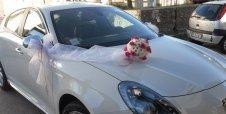 fiori per auto sposa
