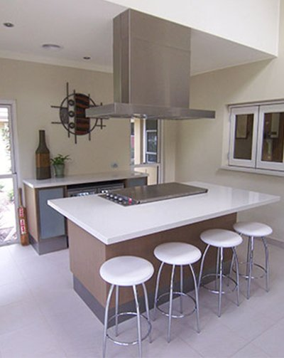 The result of one of our kitchen builders in Picton