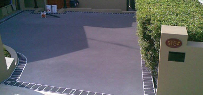 spray pave central coast floor home top view
