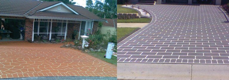 spray pave central coast pave floor before home