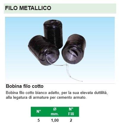 filo metallico nero
