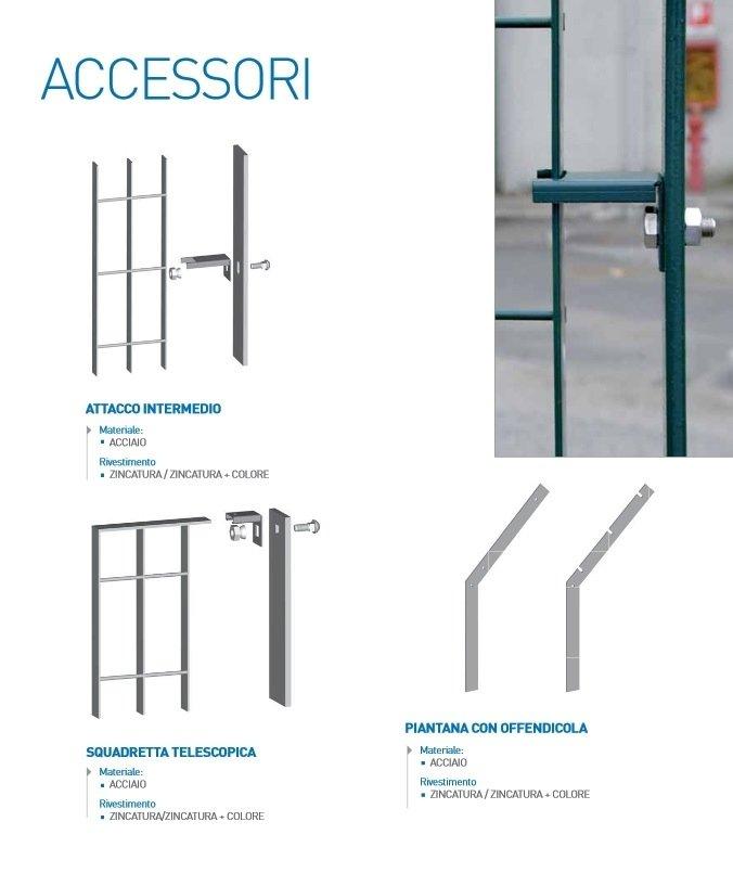 recinzioni in grigliato accessori