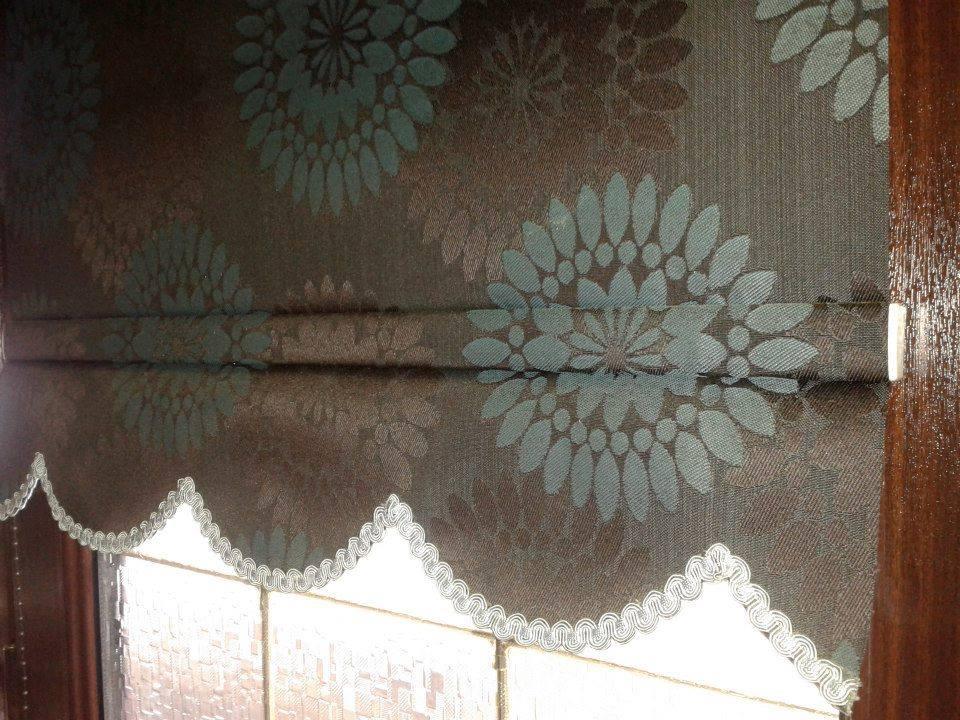 floral patterned blinds