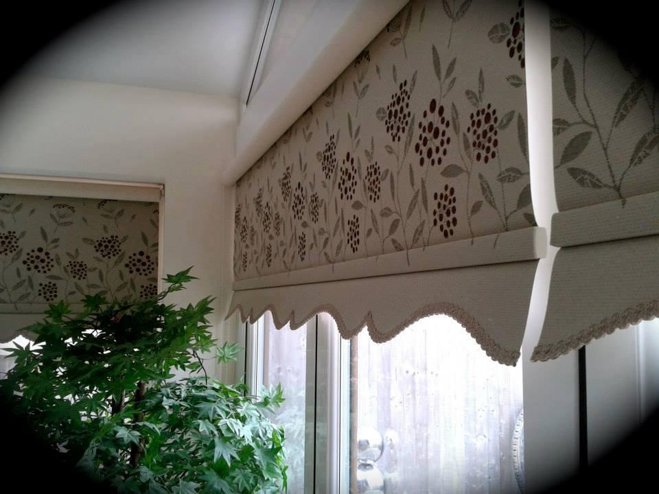 flower patterned blinds