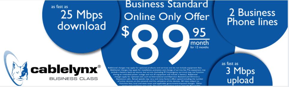 Cablelynx Business Standard Deals