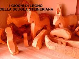 i giochi di legno della scuola steineriana