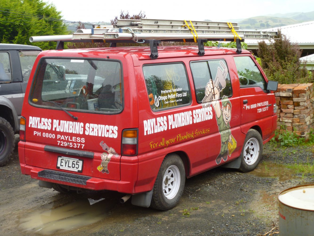 Montage of plumbing services in Dunedin