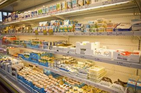 reparto banco frigo