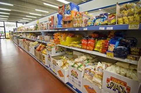 reparto alimentari