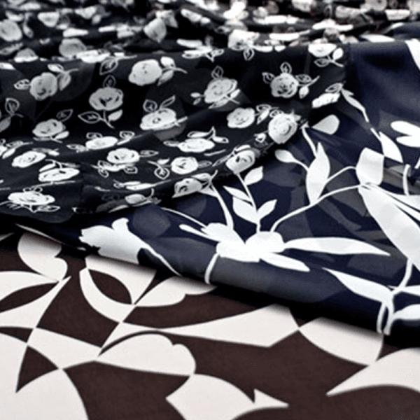 Tessuti a stock alta qualit e alta moda prato gieffe - Tessuti fiorati ...
