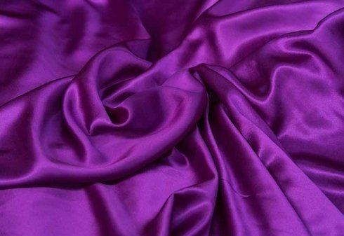tessuto viola lucido