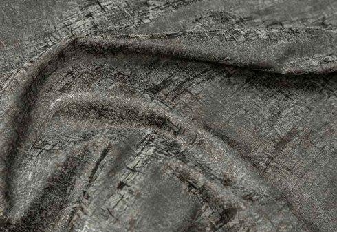 tessuto fantasia ottica grigio